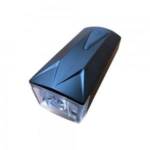 Frontlicht schwarz front für Rollatoren und Rollstühle